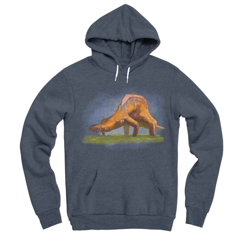 Hello, friend! Men's Sponge Fleece Pullover Hoody by Unigon Pics Delicious Merch Shoppe