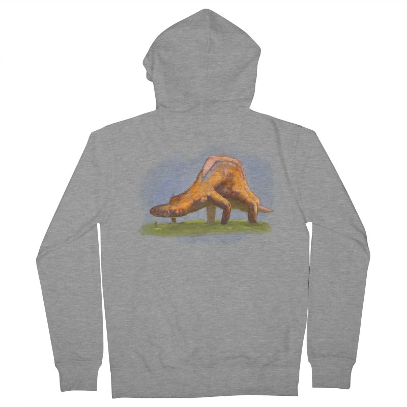 Hello, friend! Women's French Terry Zip-Up Hoody by Unigon Pics Delicious Merch Shoppe
