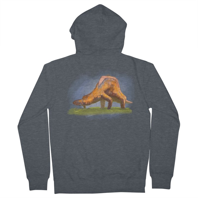Hello, friend! Men's French Terry Zip-Up Hoody by Unigon Pics Delicious Merch Shoppe
