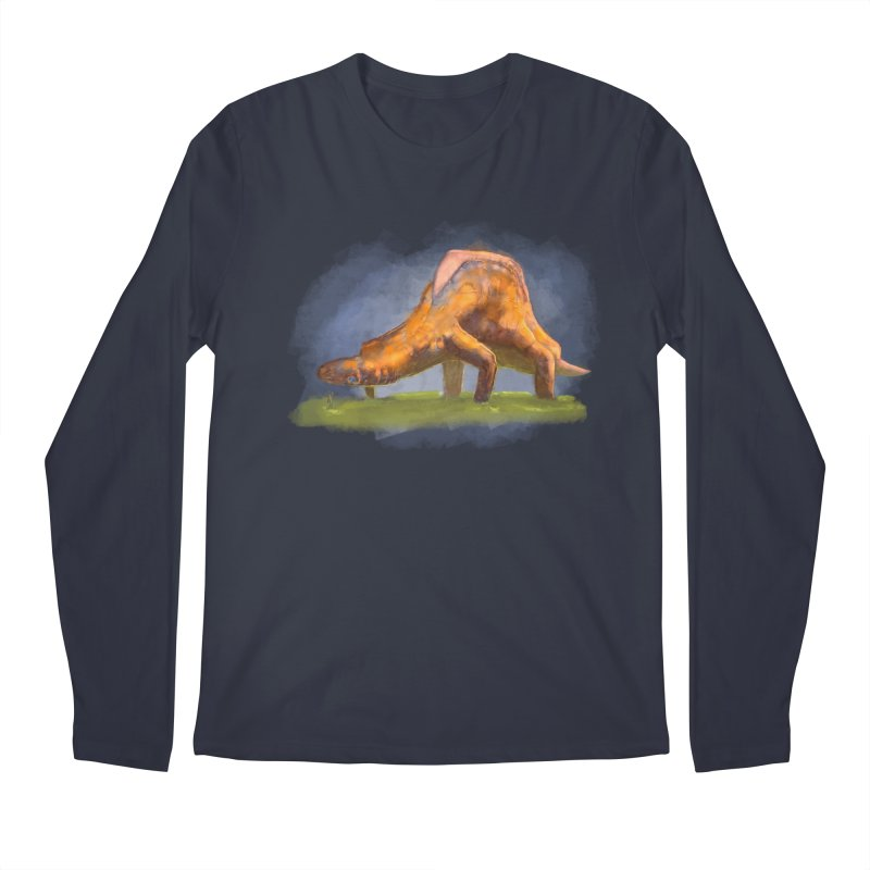 Hello, friend! Men's Regular Longsleeve T-Shirt by Unigon Pics Delicious Merch Shoppe