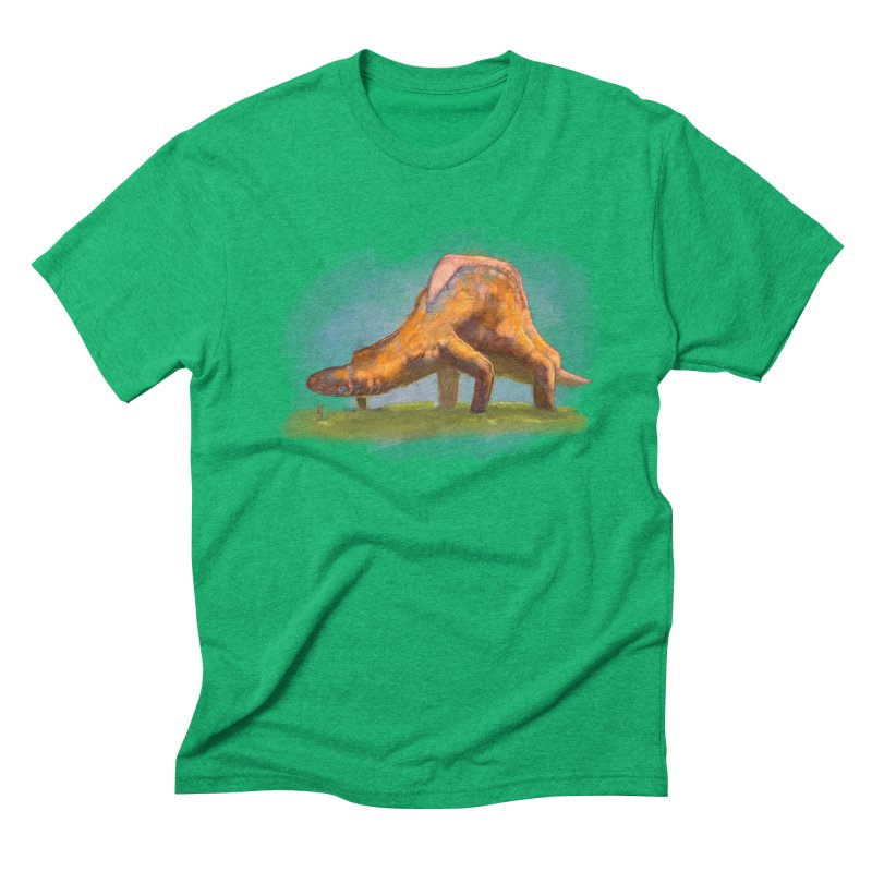 Hello, friend! Men's Triblend T-Shirt by Unigon Pics Delicious Merch Shoppe