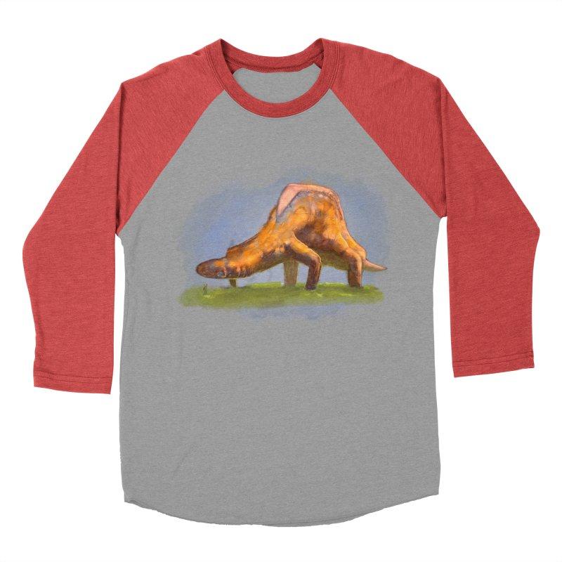 Hello, friend! Women's Baseball Triblend Longsleeve T-Shirt by Unigon Pics Delicious Merch Shoppe