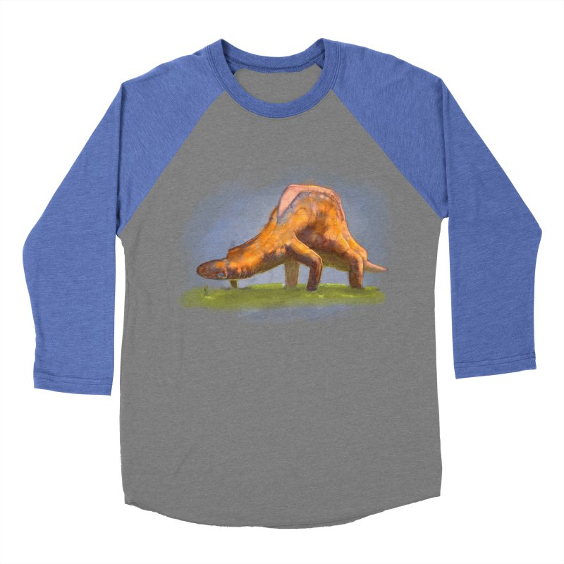 Hello, friend! Men's Baseball Triblend Longsleeve T-Shirt by Unigon Pics Delicious Merch Shoppe