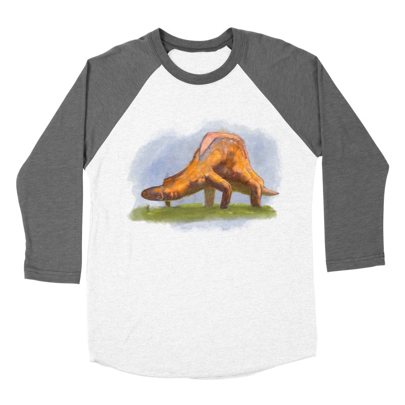 Hello, friend! Men's Baseball Triblend Longsleeve T-Shirt by Unigon Pics Delicious Merch Shoppe