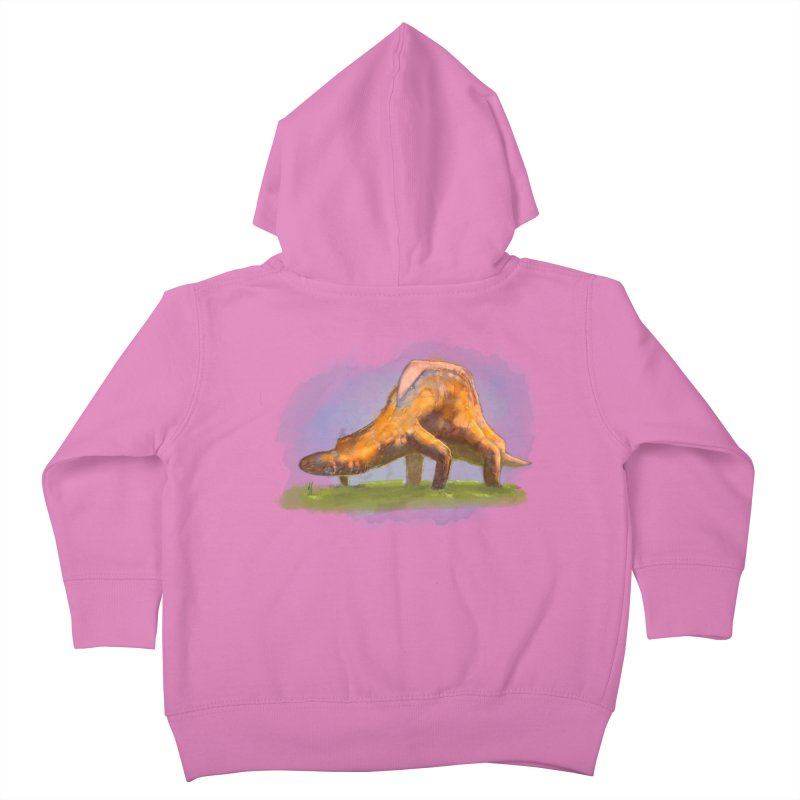 Hello, friend! Kids Toddler Zip-Up Hoody by Unigon Pics Delicious Merch Shoppe