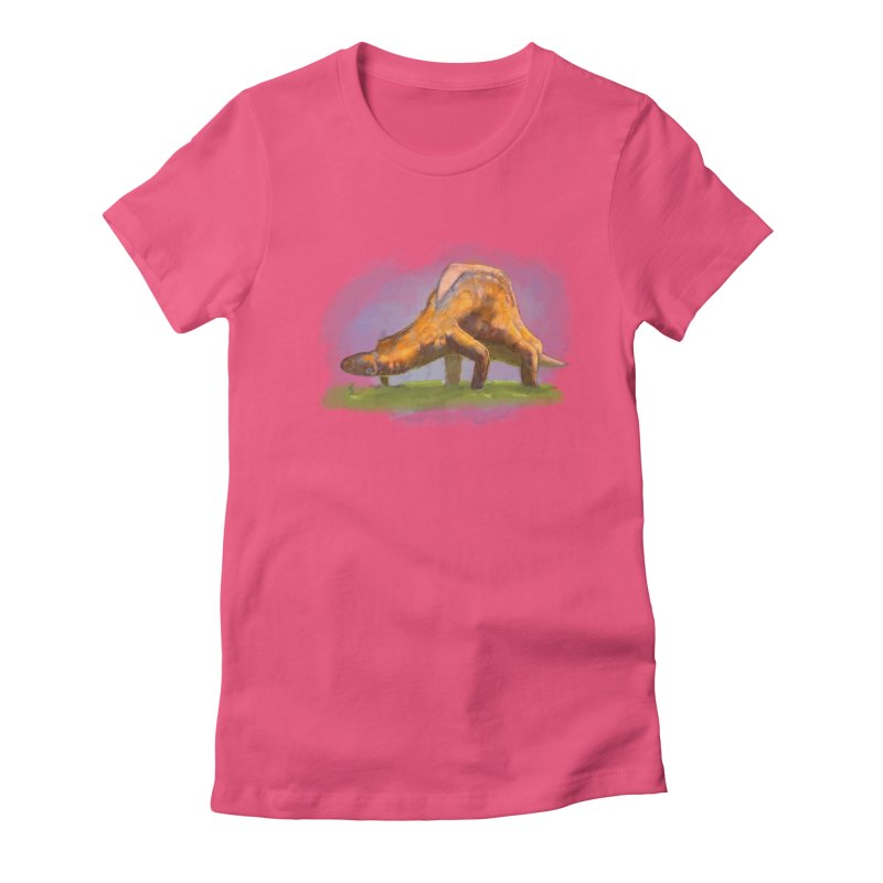 Hello, friend! Women's Fitted T-Shirt by Unigon Pics Delicious Merch Shoppe