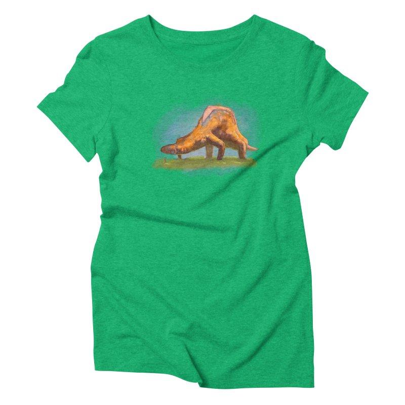 Hello, friend! Women's Triblend T-Shirt by Unigon Pics Delicious Merch Shoppe