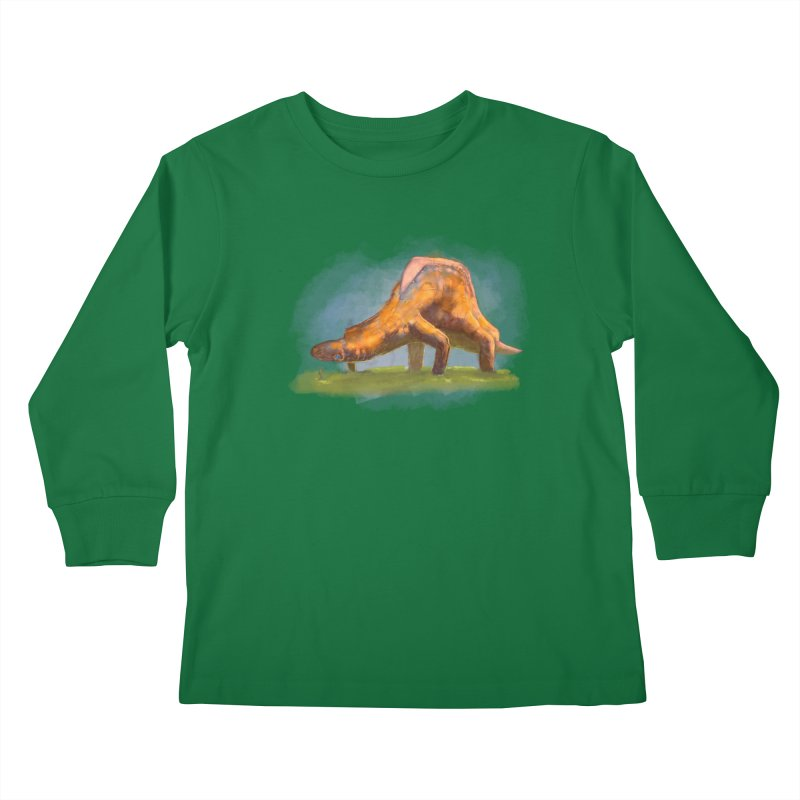 Hello, friend! Kids Longsleeve T-Shirt by Unigon Pics Delicious Merch Shoppe