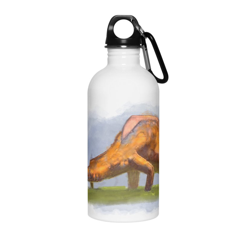 Hello, friend! Accessories Water Bottle by Unigon Pics Delicious Merch Shoppe