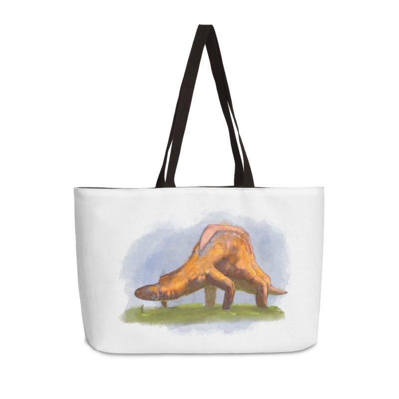 Hello, friend! Accessories Weekender Bag Bag by Unigon Pics Delicious Merch Shoppe