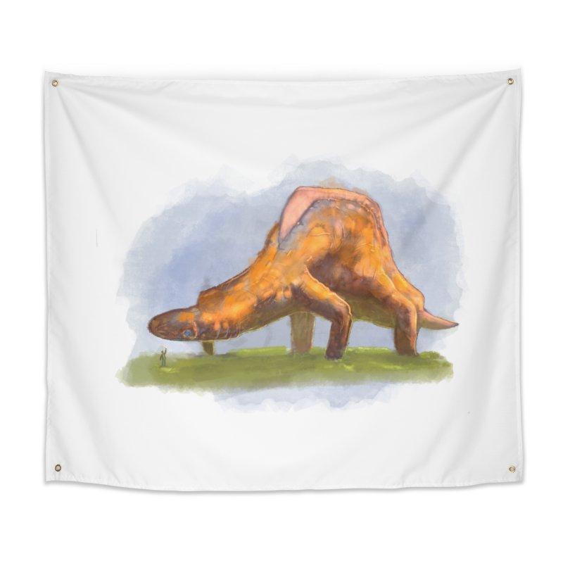 Hello, friend! Home Tapestry by Unigon Pics Delicious Merch Shoppe