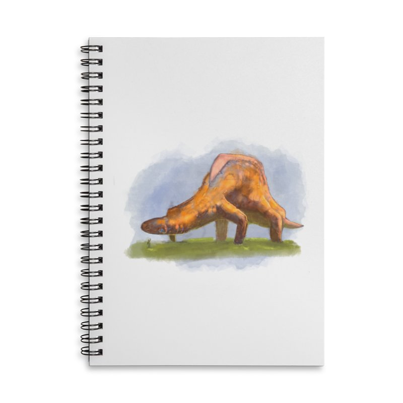 Hello, friend! Accessories Lined Spiral Notebook by Unigon Pics Delicious Merch Shoppe