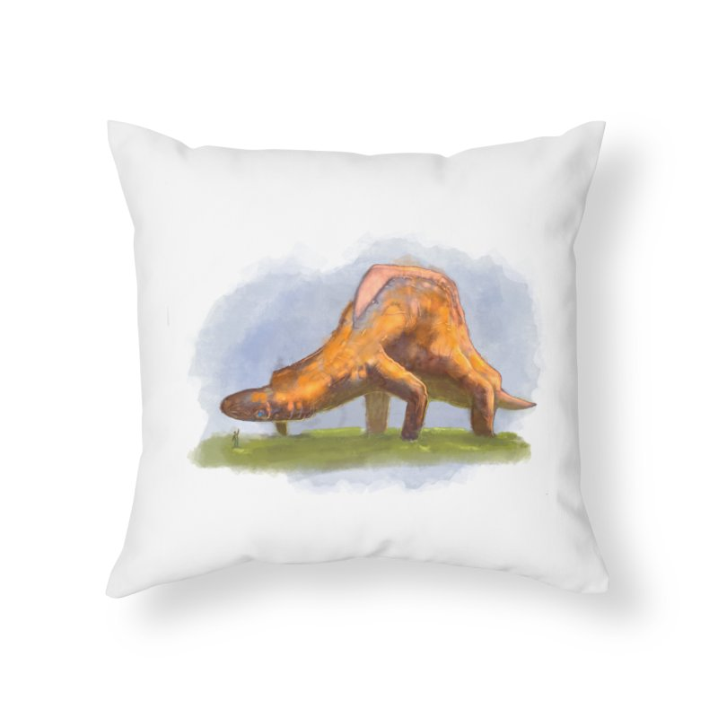 Hello, friend! Home Throw Pillow by Unigon Pics Delicious Merch Shoppe