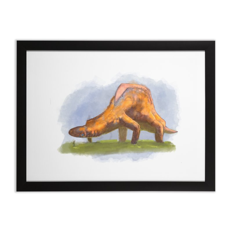 Hello, friend! Home Framed Fine Art Print by Unigon Pics Delicious Merch Shoppe