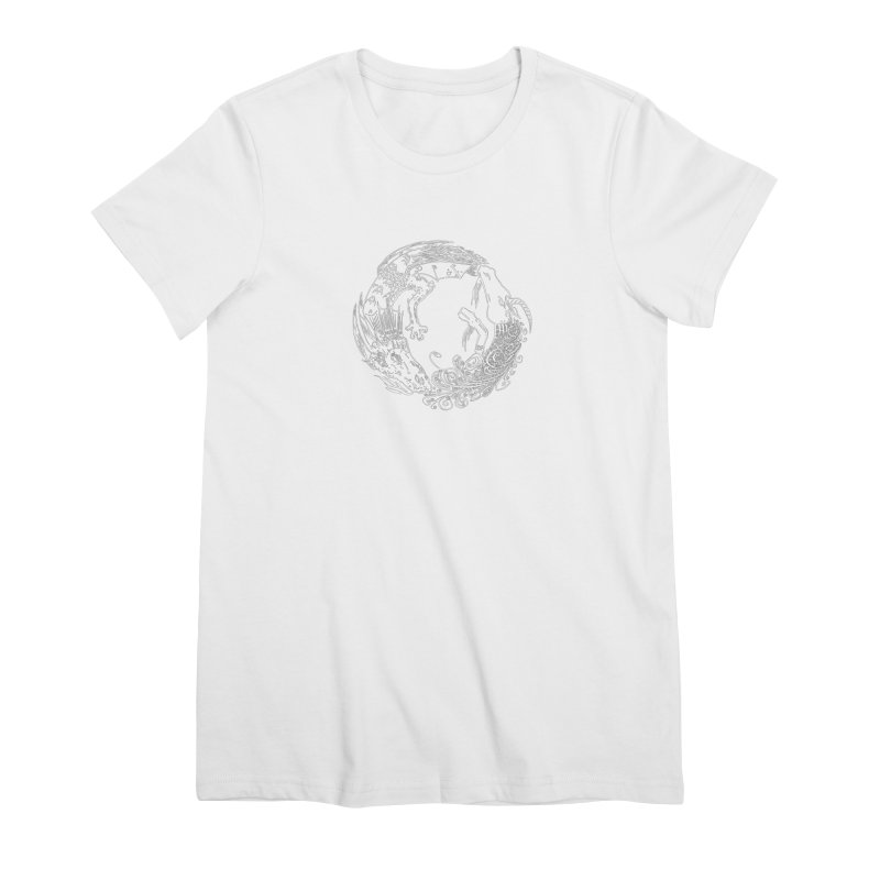 Unigon Logo, Lite Women's Premium T-Shirt by Unigon Pics Delicious Merch Shoppe