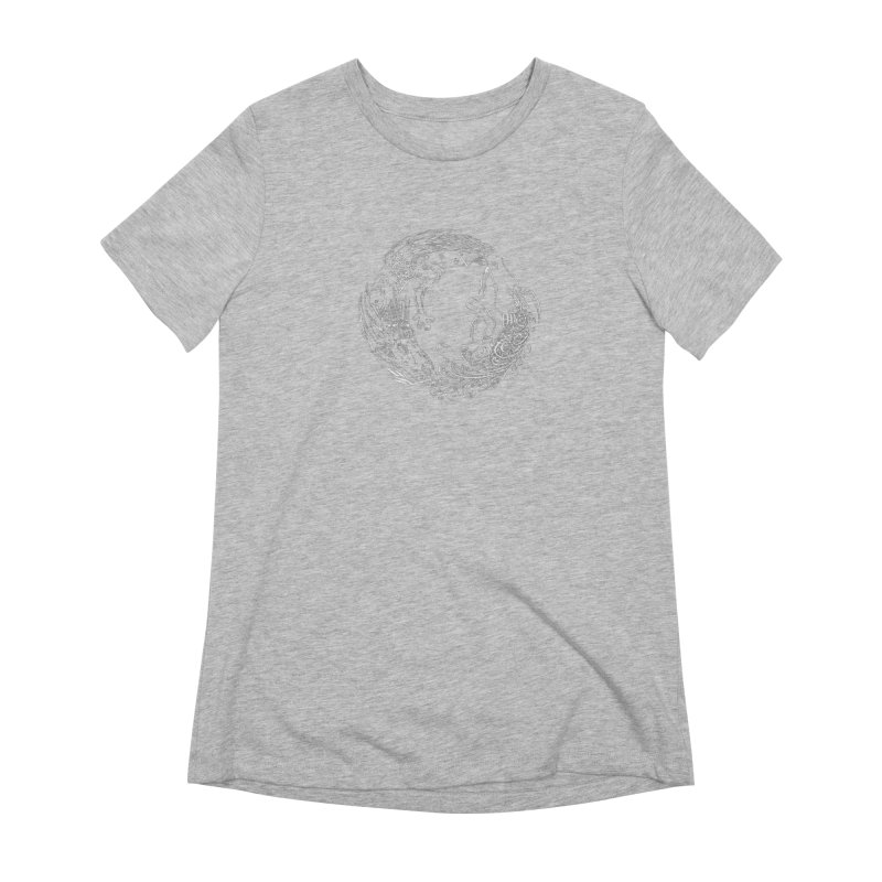 Unigon Logo, Lite Women's Extra Soft T-Shirt by Unigon Pics Delicious Merch Shoppe
