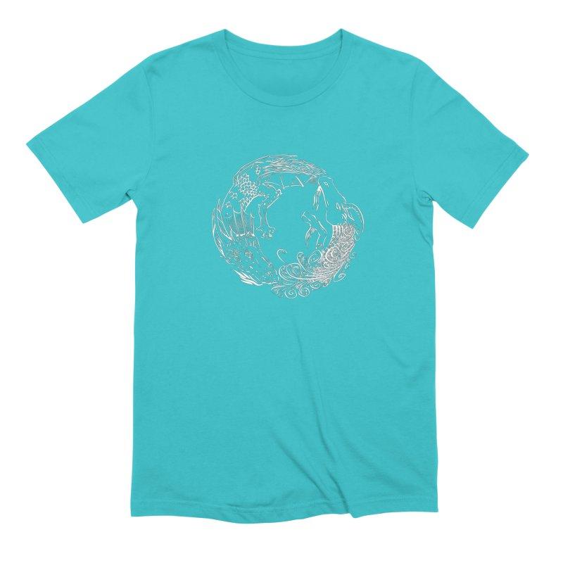 Unigon Logo, Lite Men's Extra Soft T-Shirt by Unigon Pics Delicious Merch Shoppe