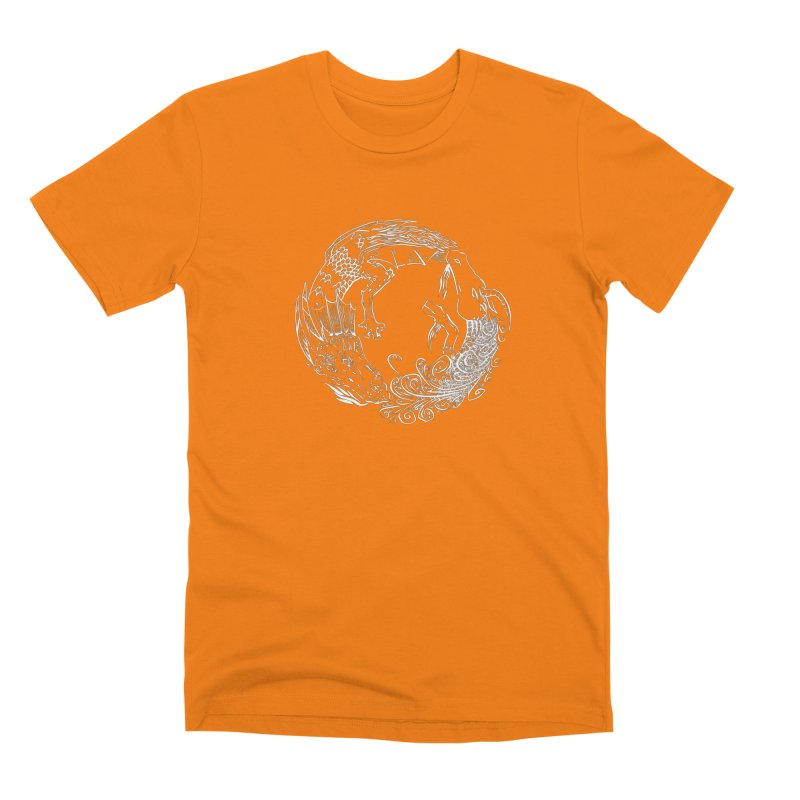 Unigon Logo, Lite Men's Premium T-Shirt by Unigon Pics Delicious Merch Shoppe