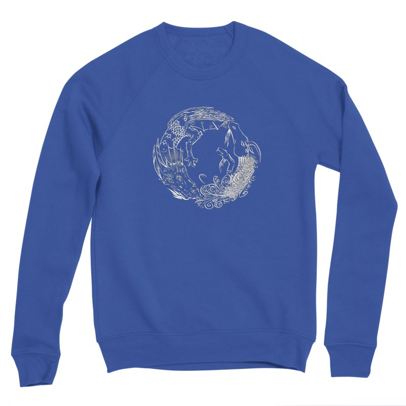 Unigon Logo, Lite Men's Sponge Fleece Sweatshirt by Unigon Pics Delicious Merch Shoppe