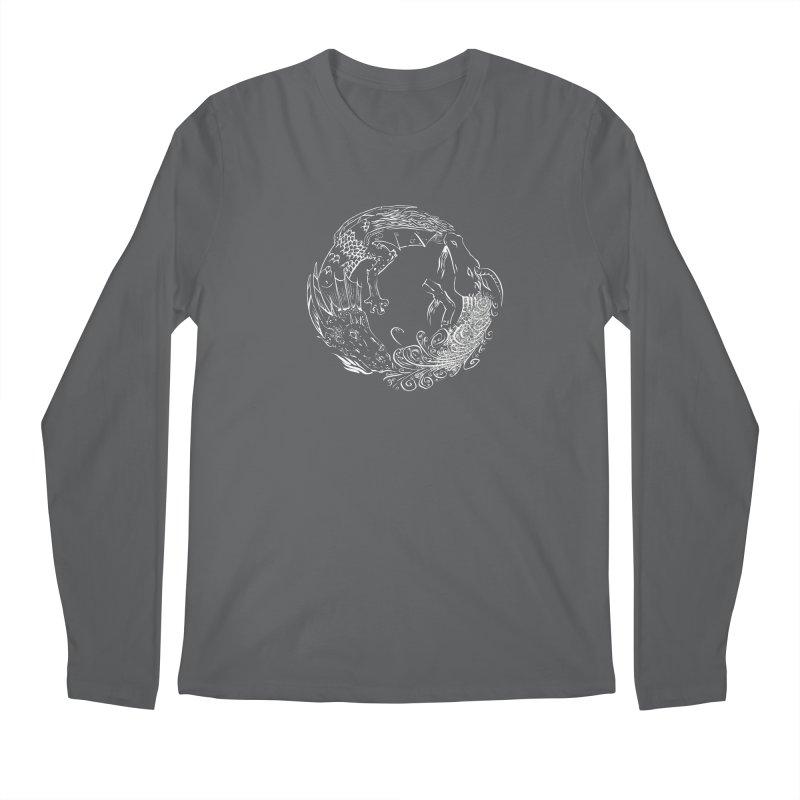 Unigon Logo, Lite Men's Regular Longsleeve T-Shirt by Unigon Pics Delicious Merch Shoppe