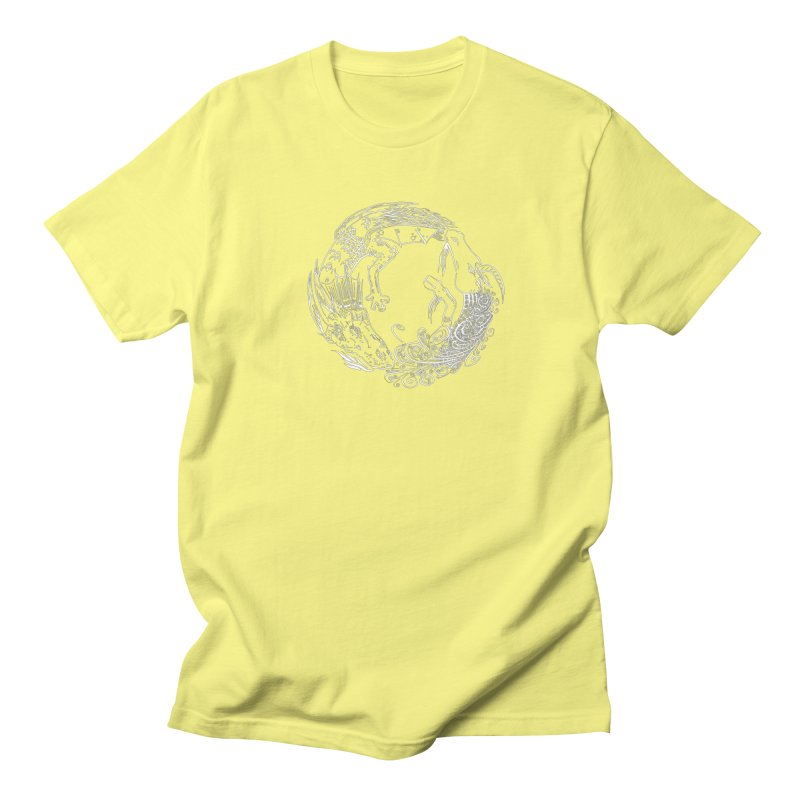 Unigon Logo, Lite Men's Regular T-Shirt by Unigon Pics Delicious Merch Shoppe