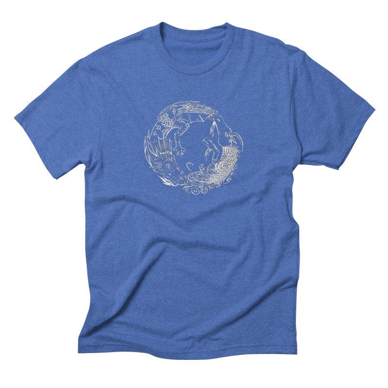 Unigon Logo, Lite Men's Triblend T-Shirt by Unigon Pics Delicious Merch Shoppe