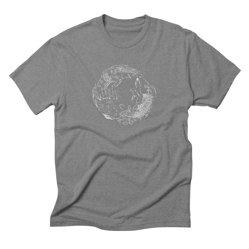 Unigon Logo, Lite Men's Triblend T-Shirt by Unigon Pics Delicious Merch Shoppe