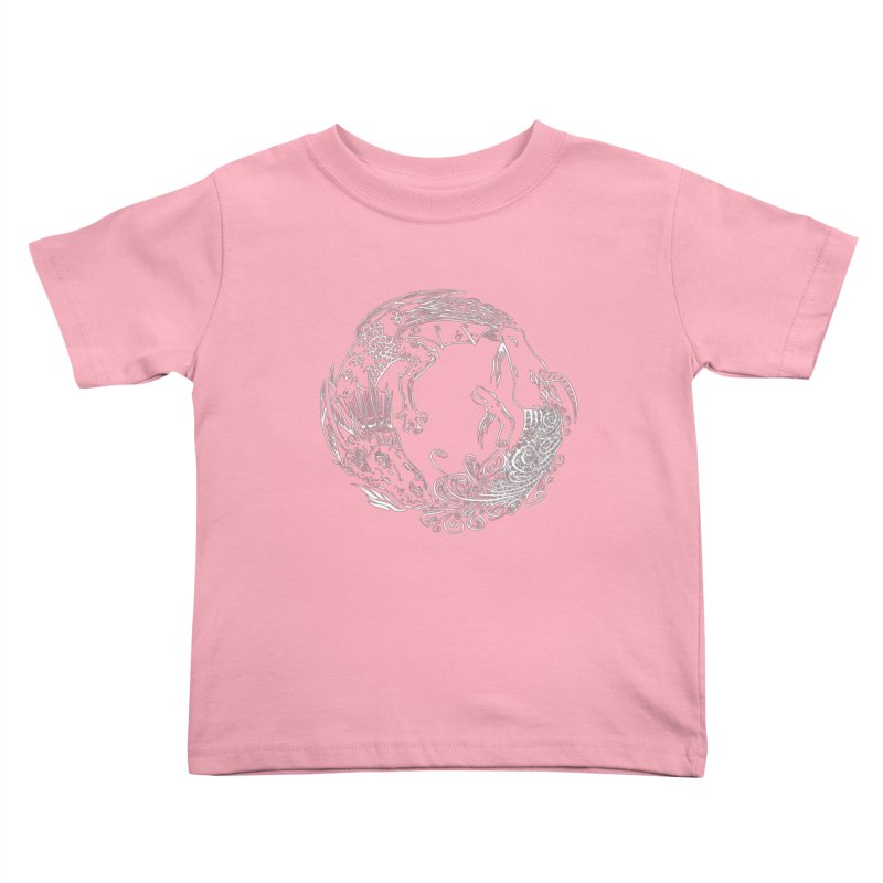 Unigon Logo, Lite Kids Toddler T-Shirt by Unigon Pics Delicious Merch Shoppe