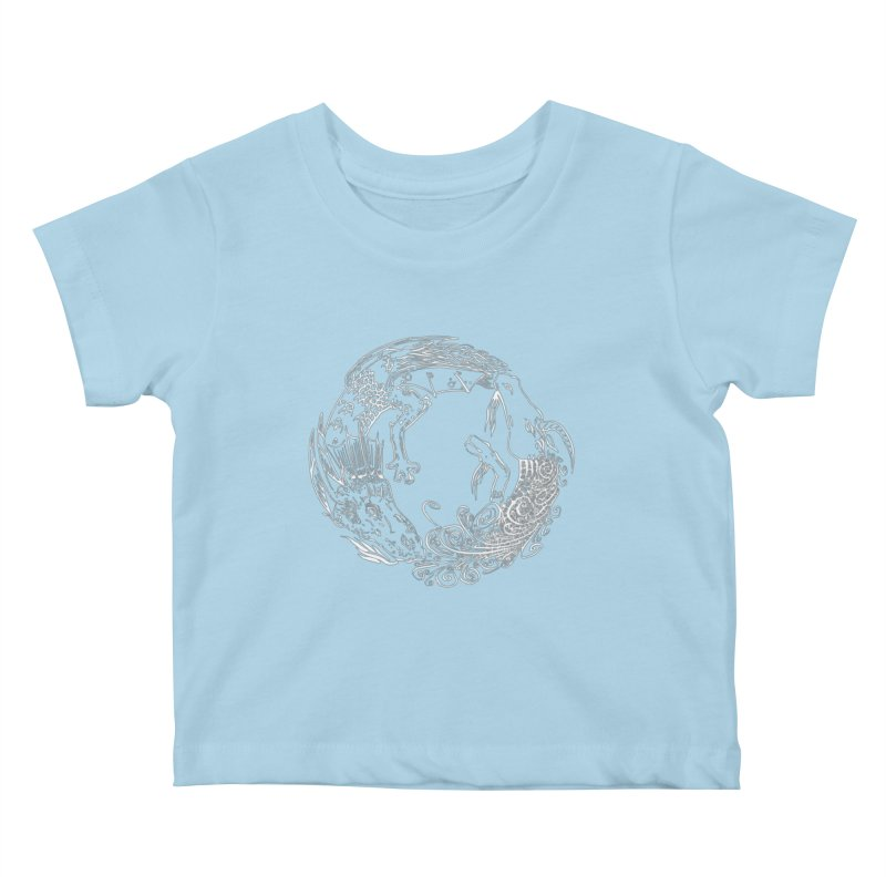 Unigon Logo, Lite Kids Baby T-Shirt by Unigon Pics Delicious Merch Shoppe