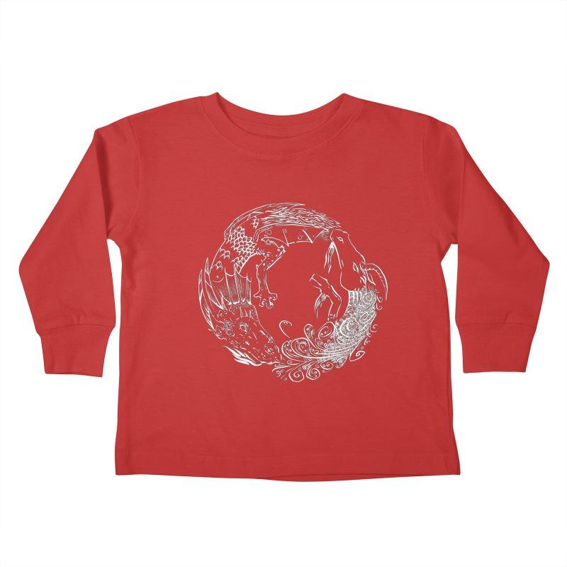 Unigon Logo, Lite Kids Toddler Longsleeve T-Shirt by Unigon Pics Delicious Merch Shoppe