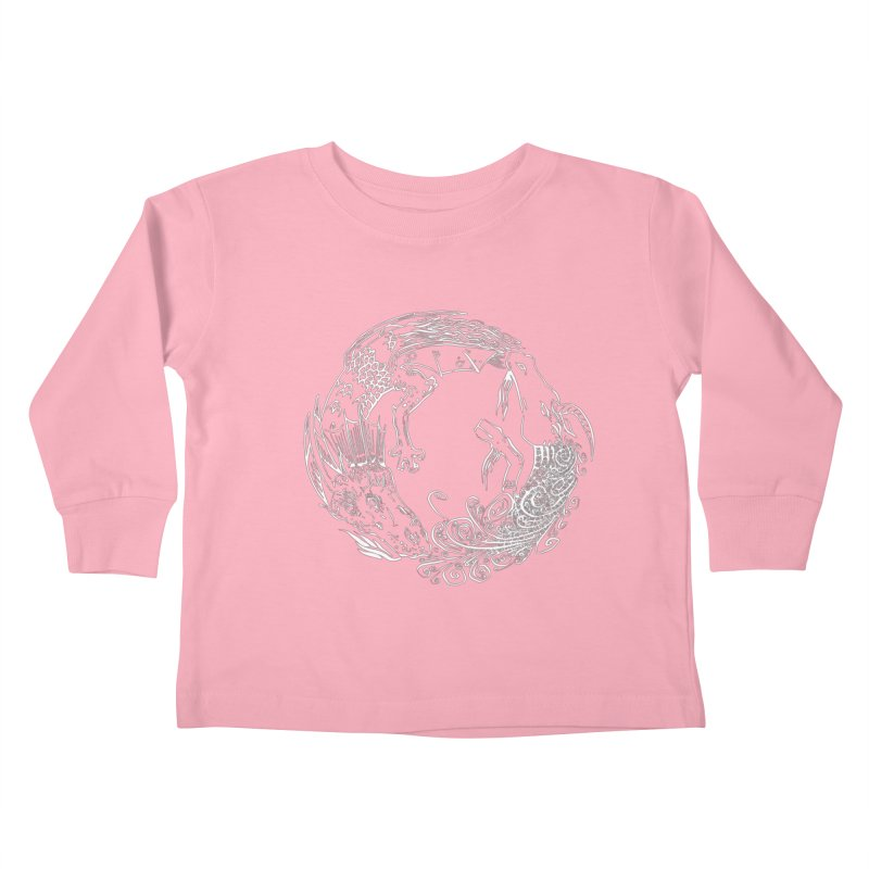 Unigon Logo, Lite Kids Toddler Longsleeve T-Shirt by Unigon Pics Delicious Merch Shoppe
