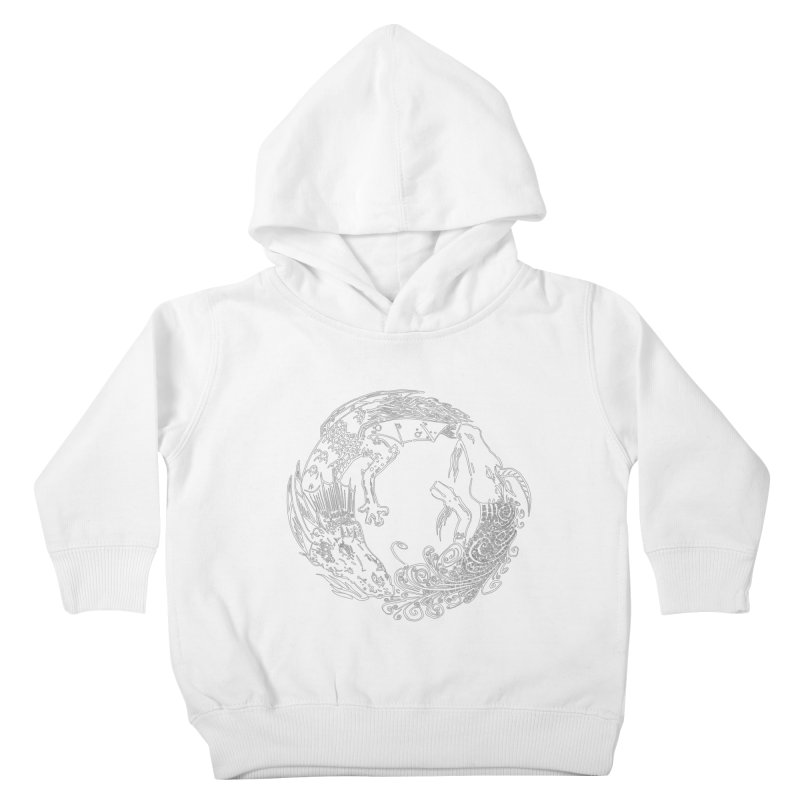 Unigon Logo, Lite Kids Toddler Pullover Hoody by Unigon Pics Delicious Merch Shoppe