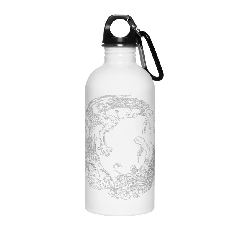 Unigon Logo, Lite Accessories Water Bottle by Unigon Pics Delicious Merch Shoppe