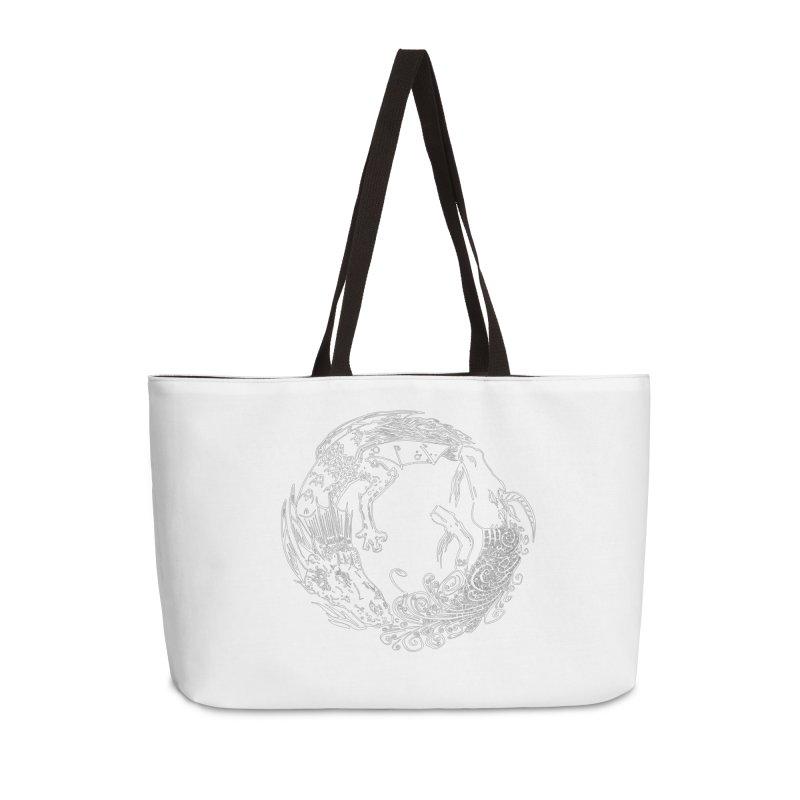 Unigon Logo, Lite Accessories Weekender Bag Bag by Unigon Pics Delicious Merch Shoppe