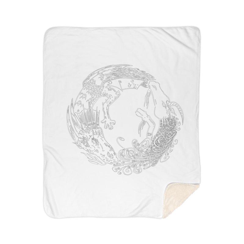 Unigon Logo, Lite Home Sherpa Blanket Blanket by Unigon Pics Delicious Merch Shoppe