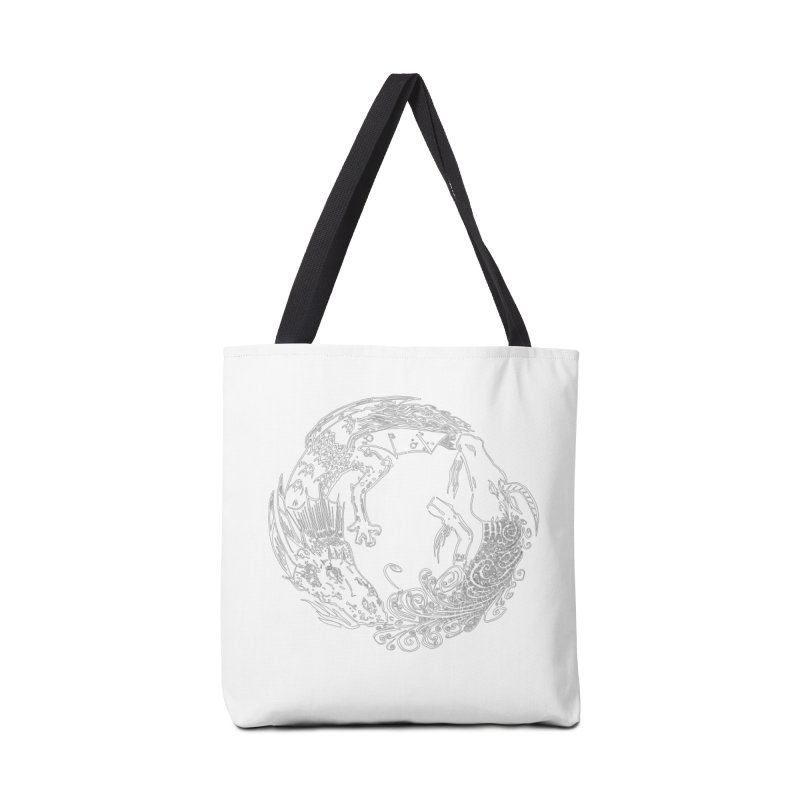 Unigon Logo, Lite Accessories Tote Bag Bag by Unigon Pics Delicious Merch Shoppe