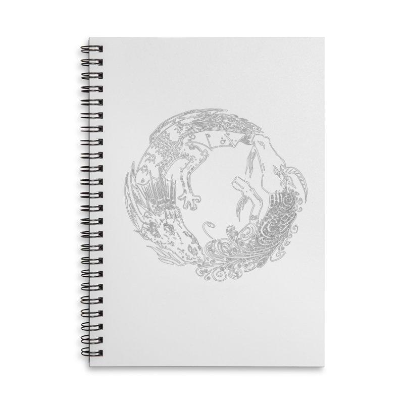 Unigon Logo, Lite Accessories Lined Spiral Notebook by Unigon Pics Delicious Merch Shoppe