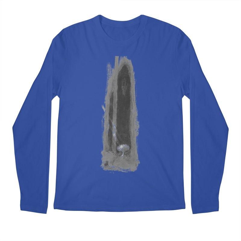 Visitor Men's Regular Longsleeve T-Shirt by Unigon Pics Delicious Merch Shoppe