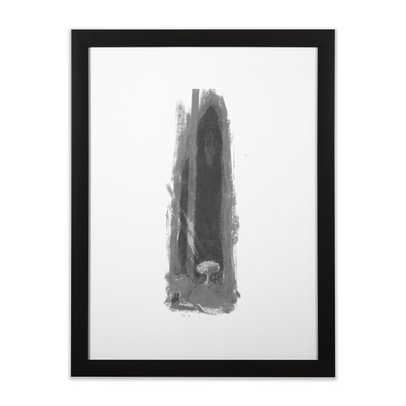 Visitor Home Framed Fine Art Print by Unigon Pics Delicious Merch Shoppe