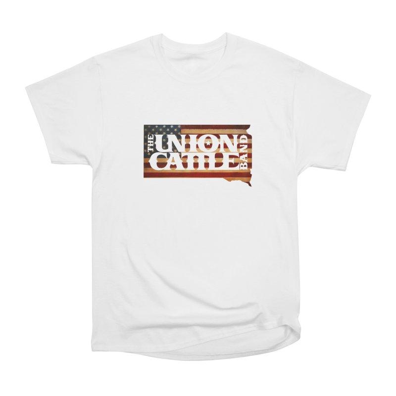 Patriotic State Logo Clothing Men's T-Shirt by unioncattleband's Artist Shop