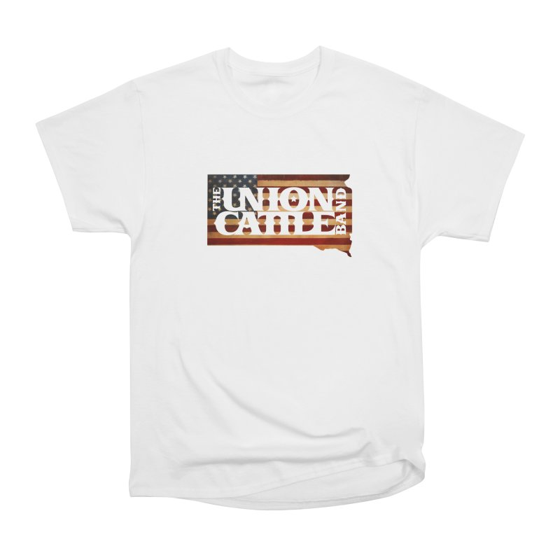 Patriotic State Logo Clothing Men's T-Shirt by unioncattleband's Artist Shop