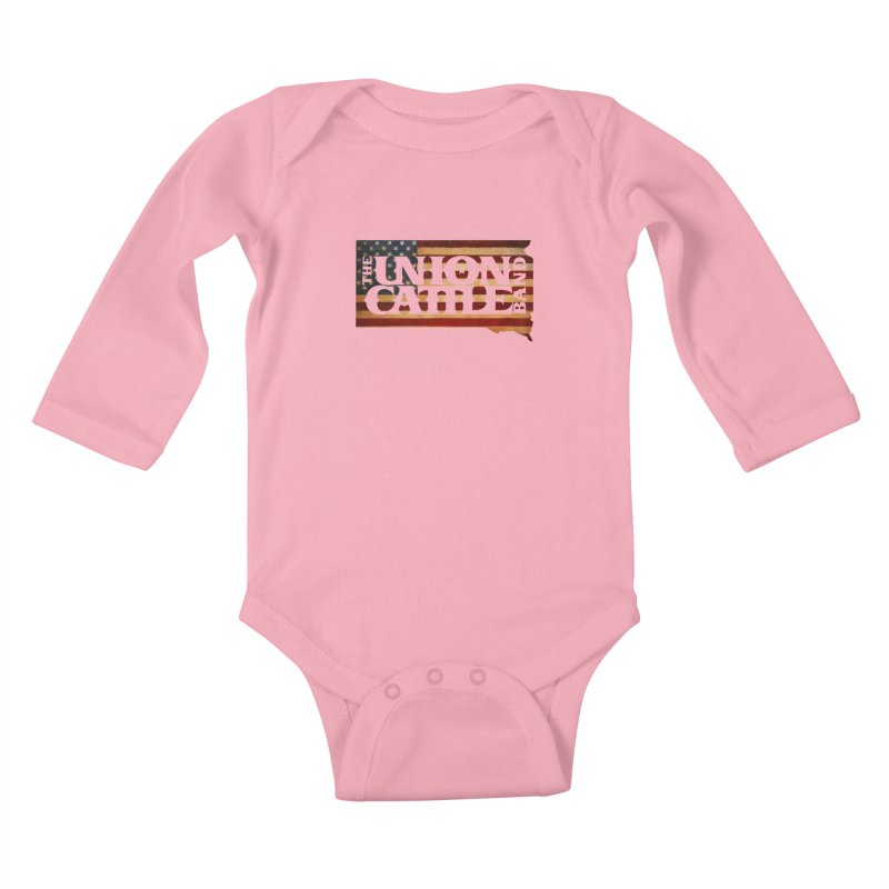Patriotic State Logo Clothing Kids Baby Longsleeve Bodysuit by unioncattleband's Artist Shop