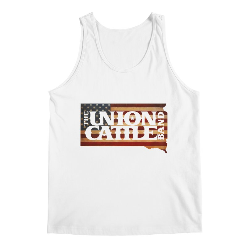 Patriotic State Logo Clothing Men's Tank by unioncattleband's Artist Shop