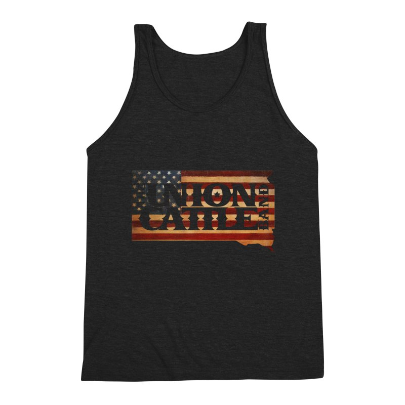 Patriotic State Logo Clothing Men's Tank by unioncattleband's Artist Shop