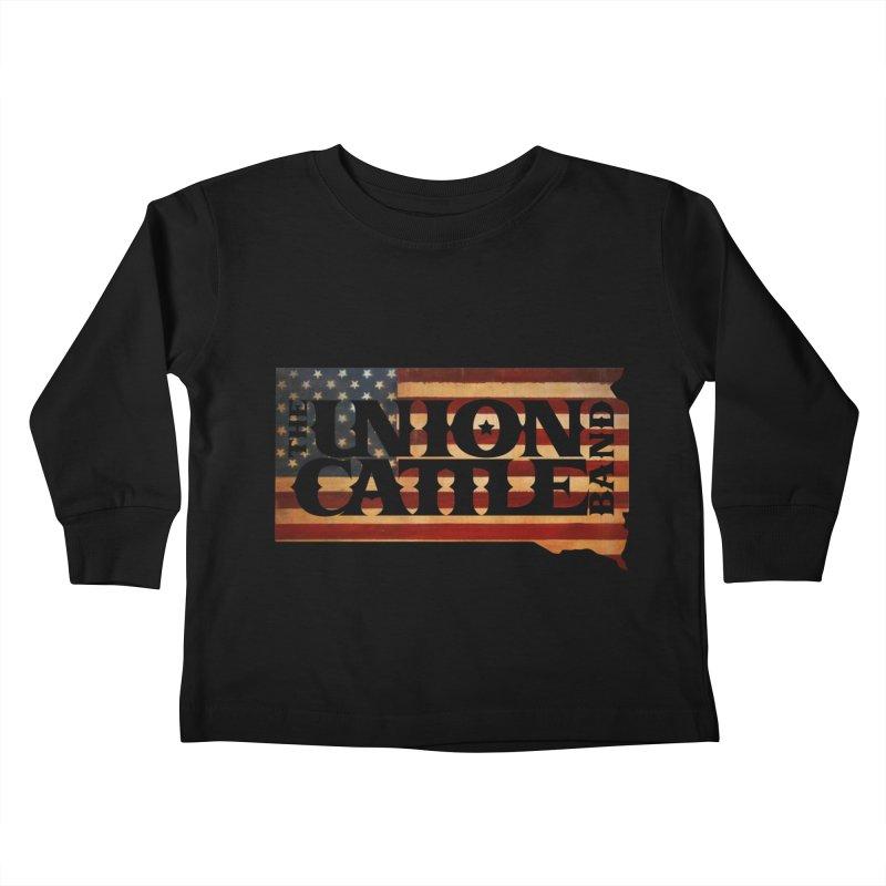 Patriotic State Logo Clothing Kids Toddler Longsleeve T-Shirt by unioncattleband's Artist Shop