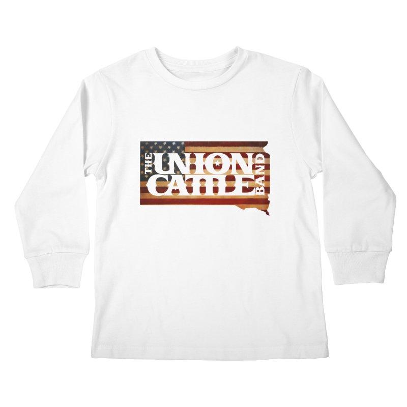 Patriotic State Logo Clothing Kids Longsleeve T-Shirt by unioncattleband's Artist Shop