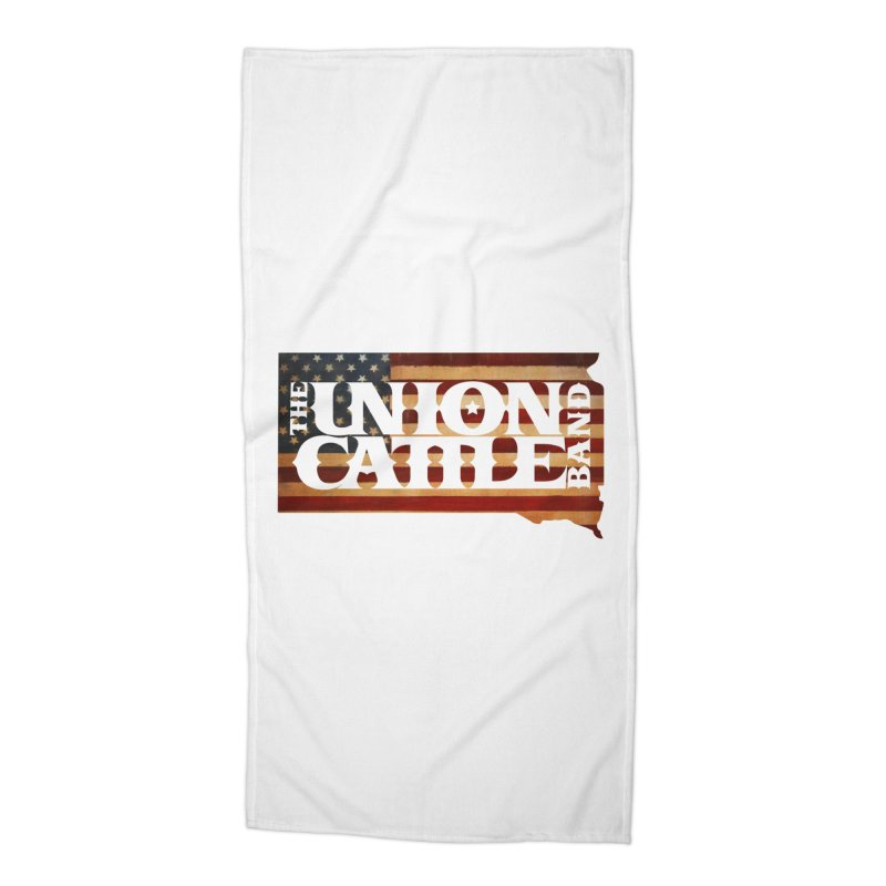 Patriotic State Logo SWAG Accessories Beach Towel by unioncattleband's Artist Shop
