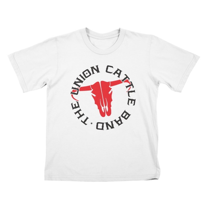 Classic Logo Light Colored Clothing Kids T-Shirt by unioncattleband's Artist Shop