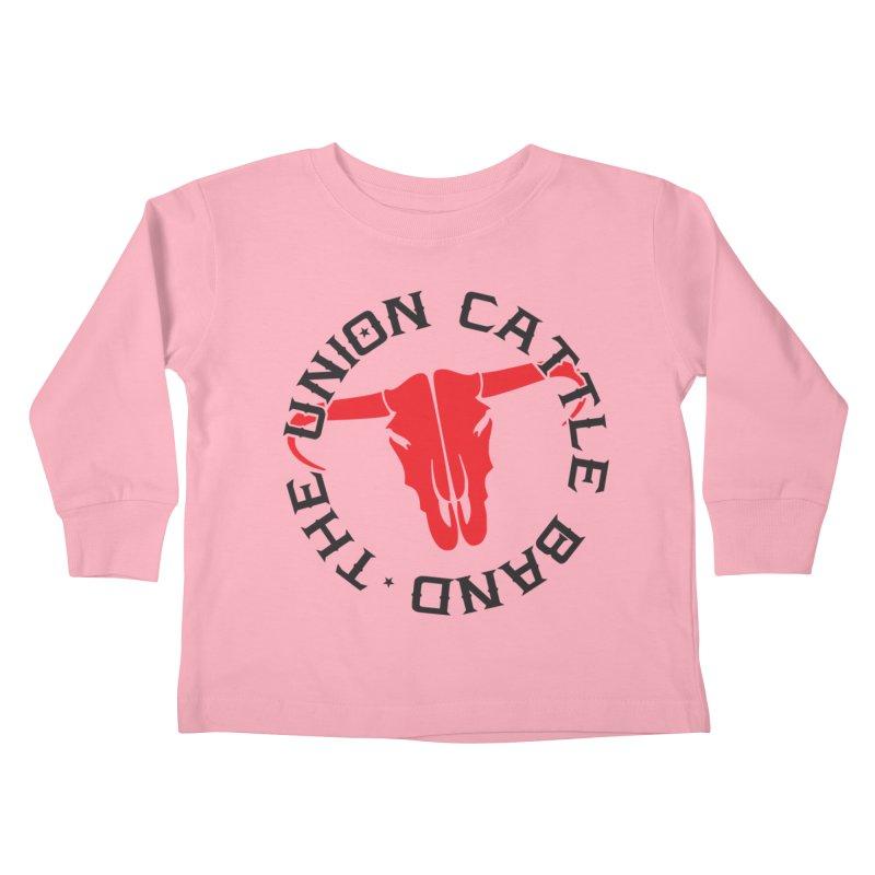 Classic Logo Light Colored Clothing Kids Toddler Longsleeve T-Shirt by unioncattleband's Artist Shop