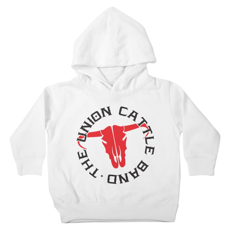 Classic Logo Light Colored Clothing Kids Toddler Pullover Hoody by unioncattleband's Artist Shop